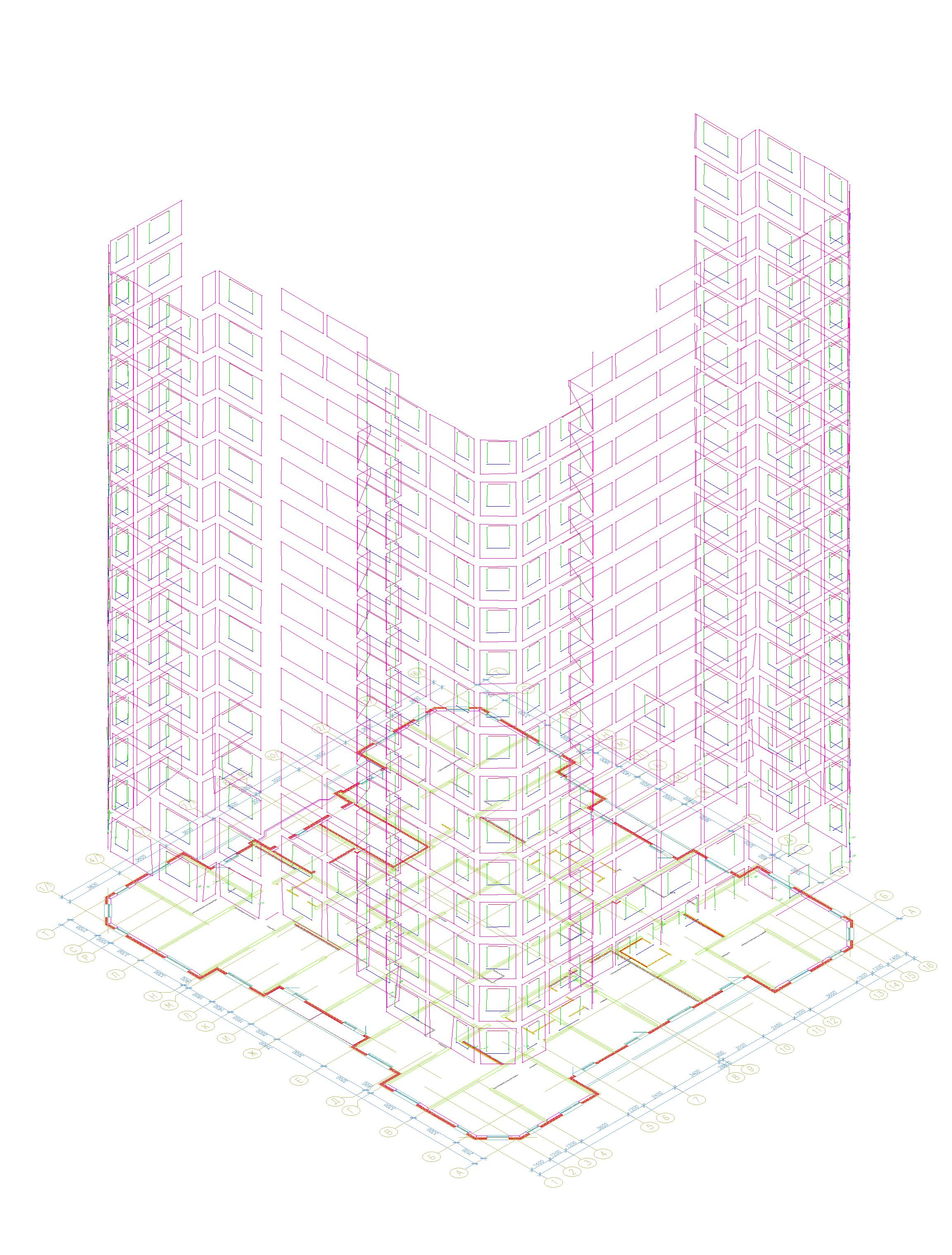Фасадная съемка для проектирования фасада