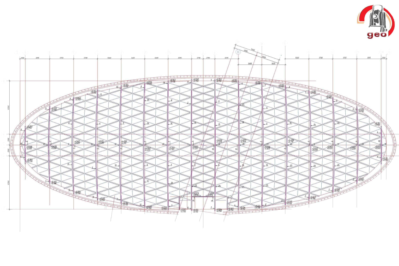Металлоконструкции купол